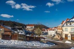 Pequeña ciudad Kazimierz Dolny del renacimiento Imagen de archivo