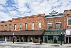 Pequeña ciudad Main Street Fotografía de archivo