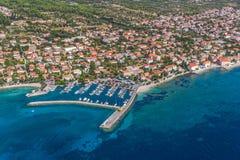Orebic, Croacia foto de archivo