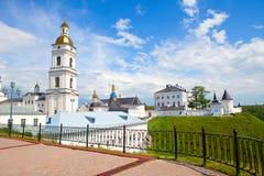 Pequeña ciudad ortodoxa Imágenes de archivo libres de regalías
