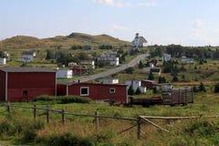 Pequeña ciudad rural imagen de archivo libre de regalías