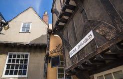 Pequeña confusión en York Foto de archivo