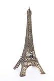 Pequeña copia de bronce de Eiffel Fotos de archivo libres de regalías