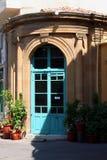Pequeña entrada del café Imagen de archivo libre de regalías