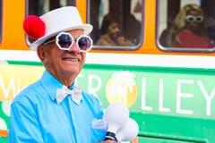 Pequeña Havana Street Performer foto de archivo