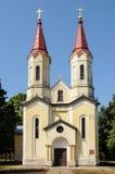 Pequeña iglesia Foto de archivo