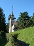 Pequeña iglesia blanca fotos de archivo libres de regalías