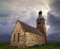 Pequeña iglesia del país Fotografía de archivo