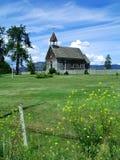 Pequeña iglesia del país Fotos de archivo