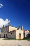 Pequeña iglesia en Kringa, Croacia foto de archivo libre de regalías
