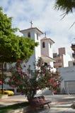 Pequeña iglesia en las islas Canarias de Tenerife Foto de archivo