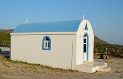 Pequeña iglesia griega ortodoxa Foto de archivo