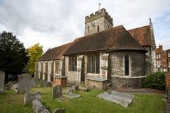 Pequeña iglesia Guildford, Surrey fotografía de archivo
