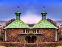 Pequeña iglesia rural Fotos de archivo