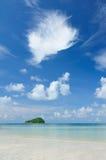 Pequeña isla Fotografía de archivo
