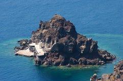 Pequeña isla Imagen de archivo libre de regalías
