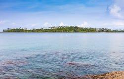 Pequeña isla Fotos de archivo