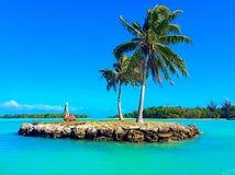 Pequeña isla Fotografía de archivo libre de regalías
