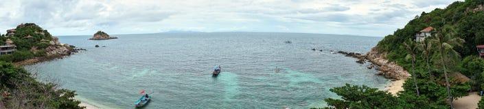 Pequeña isla cerca de Ko Tao Imagen de archivo