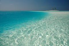 Pequeña isla tropical Fotos de archivo