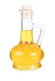 Pequeña jarra con petróleo de girasol Foto de archivo