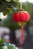 Pequeña linterna roja Fotos de archivo libres de regalías