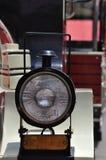 Pequeña luz principal del tren Fotos de archivo libres de regalías