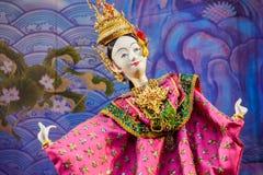 Pequeña marioneta tradicional tailandesa Fotografía de archivo