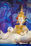 Pequeña marioneta tradicional tailandesa Fotos de archivo