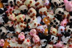 Pequeña muñeca de las ovejas Foto de archivo