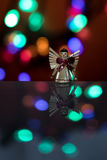 Pequeña muñeca iluminada del ángel Fotografía de archivo libre de regalías