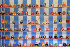 Pequeña muñeca muchos Fotos de archivo