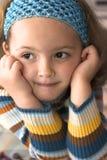 Pequeña muchacha Fotografía de archivo