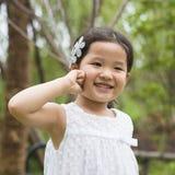 Pequeña muchacha asiática fotografía de archivo