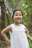 Pequeña muchacha asiática Foto de archivo libre de regalías