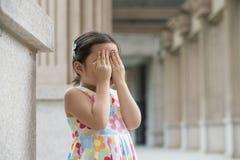 Pequeña muchacha asiática fotos de archivo libres de regalías