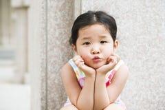 Pequeña muchacha asiática imagen de archivo