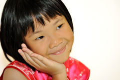 Pequeña muchacha asiática dulce Fotos de archivo