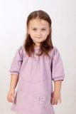 Pequeña muchacha de ojos azules Imagen de archivo