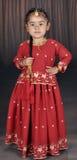 Pequeña muchacha del punjabi Imagen de archivo libre de regalías