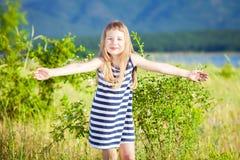 Pequeña muchacha hermosa Fotos de archivo
