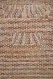 Pequeña pared de ladrillos, con diversos modelos fotografía de archivo libre de regalías
