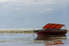 Pequeña pesca de madera Fotografía de archivo libre de regalías