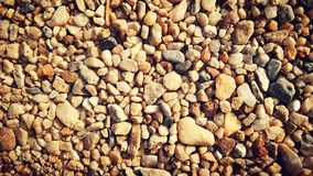 Pequeña piedra en piso Fotos de archivo