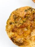 Pequeña pizza redonda Fotos de archivo libres de regalías