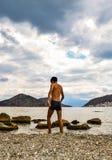 Pequeña playa de Asini Imágenes de archivo libres de regalías