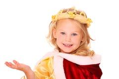 Pequeña princesa Imagen de archivo