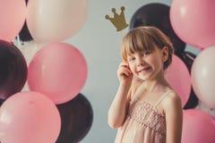 Pequeña princesa hermosa fotografía de archivo libre de regalías