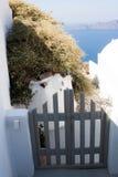 Pequeña puerta de la cerca Imágenes de archivo libres de regalías