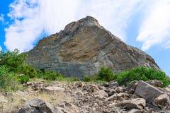 pequeña roca de la pizarra Foto de archivo